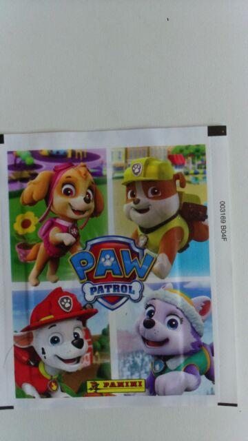 lot de 100 stickers paw patrol panini