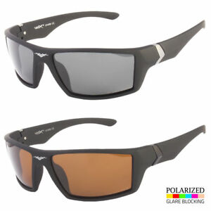 a7ceaf1e80 Image is loading New-Polarized-Wrap-Sunglasses-Mens-Sport-Running-Fishing-