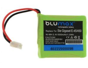 650mAh-AKKU-fuer-SIEMENS-GIGASET-E45-Accu-Batterie-Battery-Neu