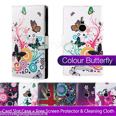 32nd Design PU leather wallet case for NOKIA LUMIA 925 / 930 + screen protector