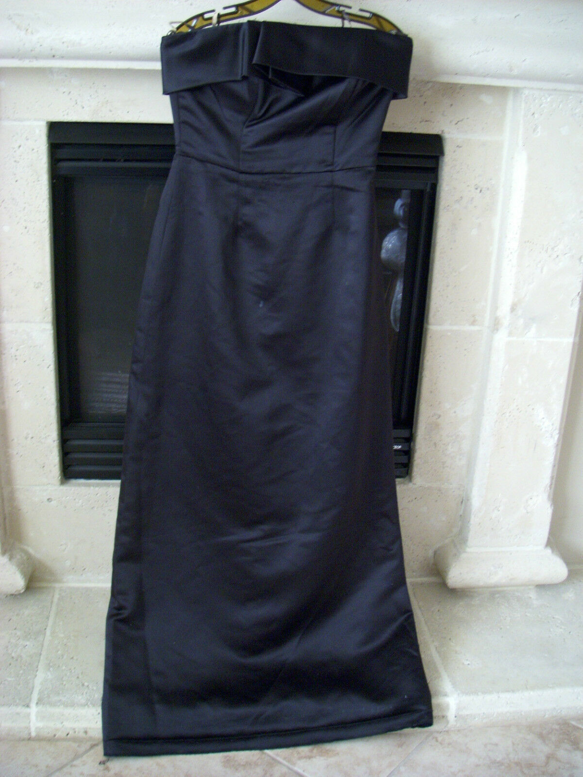 Lela Rose Bridesmaid Duchesse Satin Strapless Gown Size 8