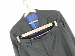 TED-BAKER-VINTAGE-SUIT-ORIGINAL-PREMIUM-WOOL-PINSTRIPED-size-CHEST-40-W34
