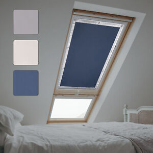 Dachfensterrollo Ohne Bohren Sonnenschutz Uv Schutz Thermo