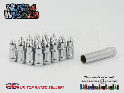 20x Tuercas de Rueda de bala de punta encaja Ford Mondeo con aleaciones del mercado de accesorios