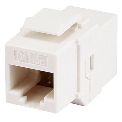 Cat5E RJ45 Ethernet LAN Network Keystone Jack Inline Coupler Extender Adapter