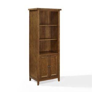 Crosley Furniture Sienna Bookcase In Moroccan Pine
