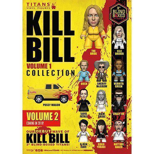 Kill Bill Volume 1 Collection Titans Display 8cm 3IN (18) Mini Figure Box Set