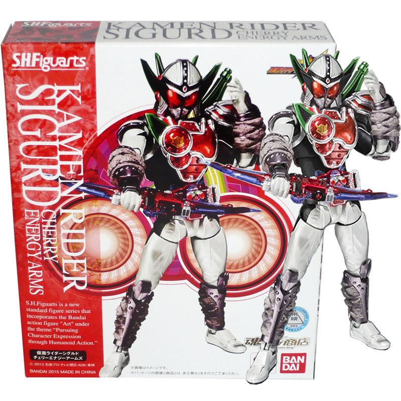 Tamashii begrenzt s.h.figuarts maskierte kamen rider gaim sigurd cherry energie.