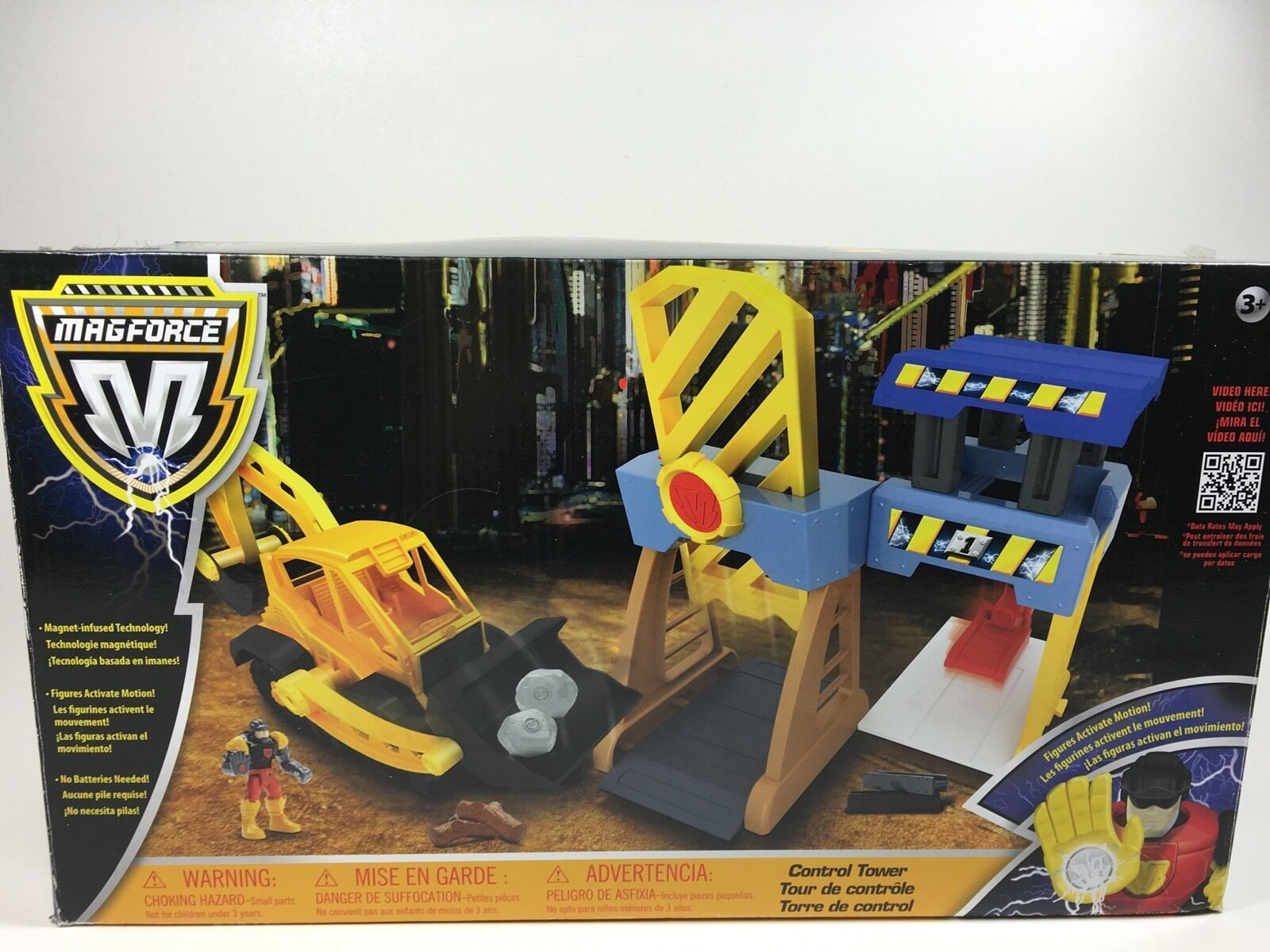 MAGFORCE Control Tower Magnetic Activated Gears Construction Set Toys