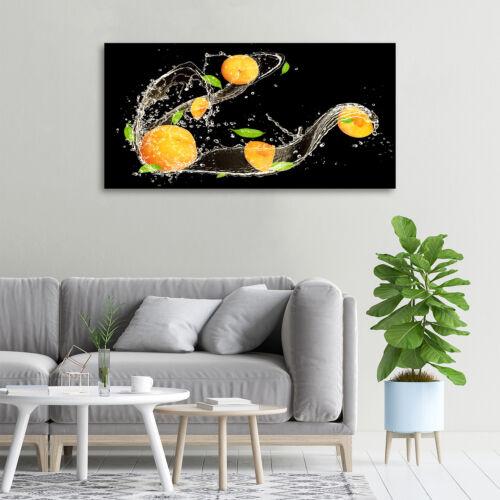 Glas-Bild Wandbilder Druck auf Glas 100x50 Essen /& Getränke Aprikosen Wasser
