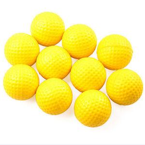 10Pcs-Yellow-Plastic-Elastic-Golf-Practice-Training-Balls-Training-Aid-SG-c