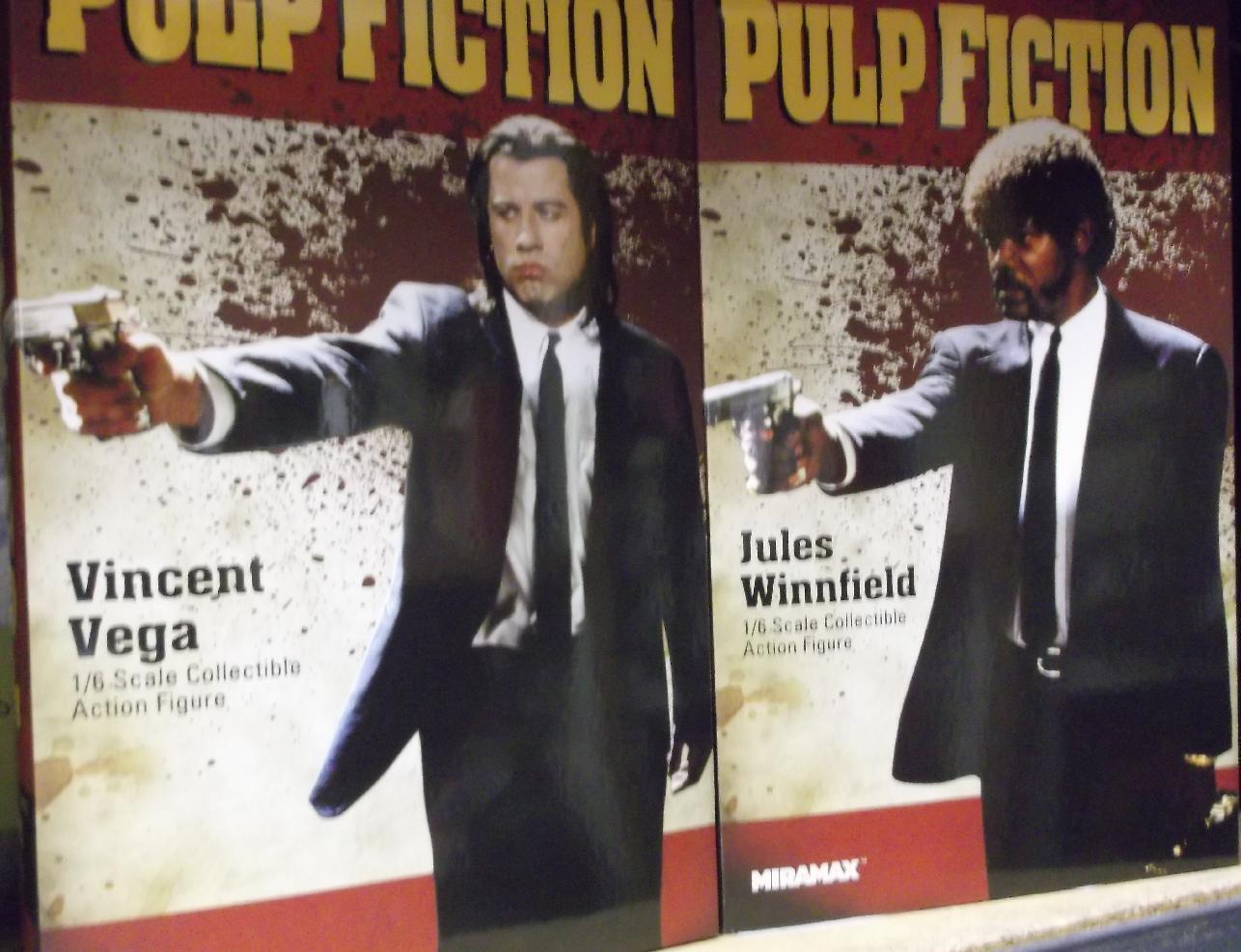 Star Ace Toys Pulp Fiction Vincent Vega and Jules Winnfield SA0041 SA0044 MIB
