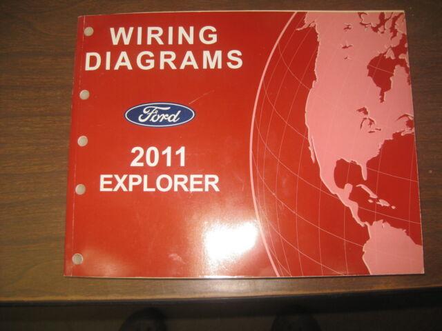 2011 Ford Explorer Wiring Diagrams Service Manual