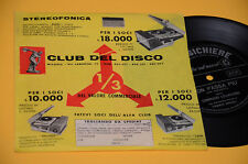 """7"""" 45 FLEX DISC (NO LP ) CORRADO LOJACONO NON PASSA PIU' OTTIME CONDIZIONIO"""