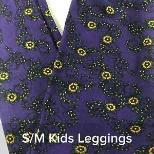 5f2ee197c8a6ee LuLaRoe S/M Child Kids Leggings LLR -BNWOT Black, Purple, Yellow ...