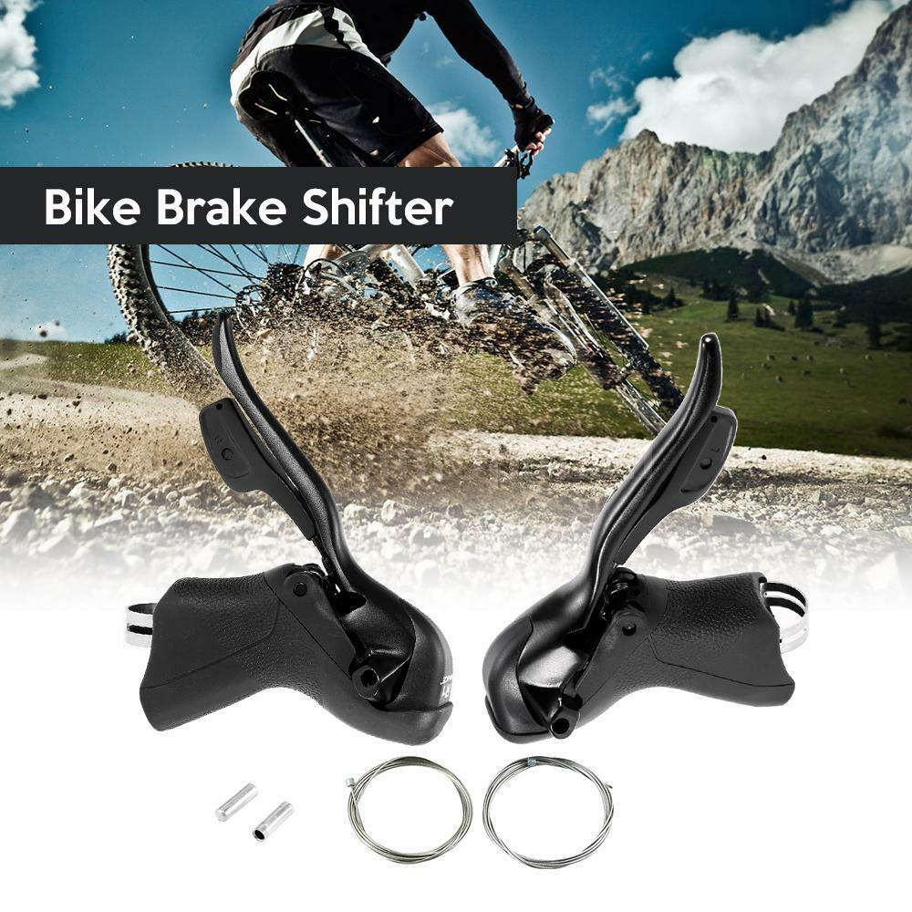 7S 8S 9S 10S Speed Road Bike Shifter  Brake Lever Front Rear Derailleur Set F7I7  wholesale cheap