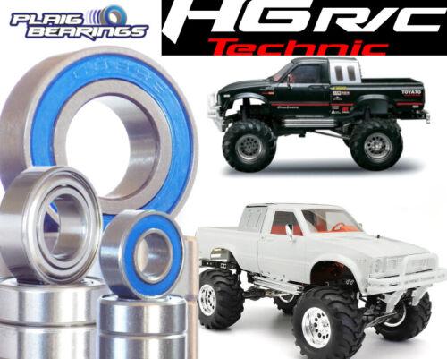 HG P407 Bearing Kits Rubber Seals HengGuan RC High Quality Precision