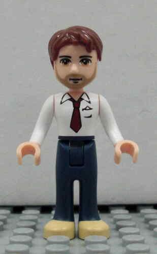 Peter Figur Minifig Heartlake Vater Papa Dad Mann Olivia 3315 LEGO Friends