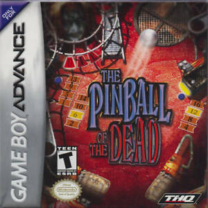 Pinball-Of-The-Dead-GBA-Great-Condition-Fast-Shipping