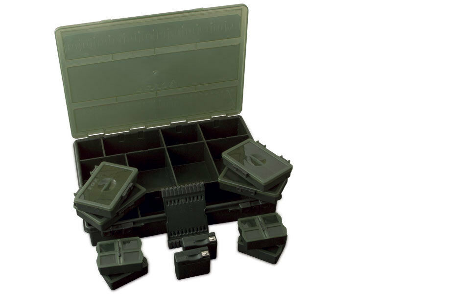 Fox NEW Carp Fishing Royale Loaded Deluxe System Box Large - CBX068