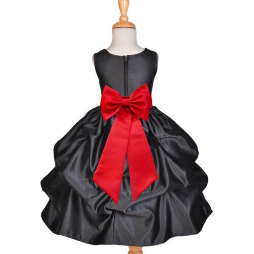 USA FREE SHIPPING HALLOWEEN PARTY HOLIDAY CHRISTMAS RECITAL FLOWER GIRL DRESS
