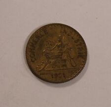 1 Franc Frankreich France 1921 Commerce Industrie (B3)