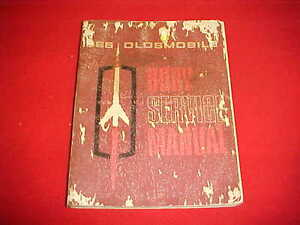 1965 OLDSMOBILE 442 CUTL ORIGINAL BODY SERVICE SHOP MANUAL 65 ... on