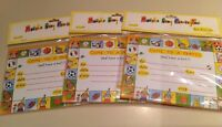 Mjzoom - Lot Of 3 Packs - 8 come To A Party Invitation Notecards W/ Envelopes