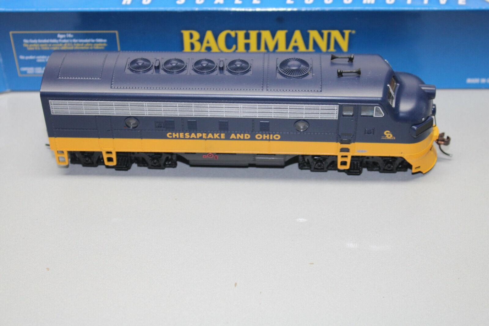 Bachuomon 63708 US-DIESEL f7a Chesapeake e e e Ohio traccia h0 OVP 18bb07