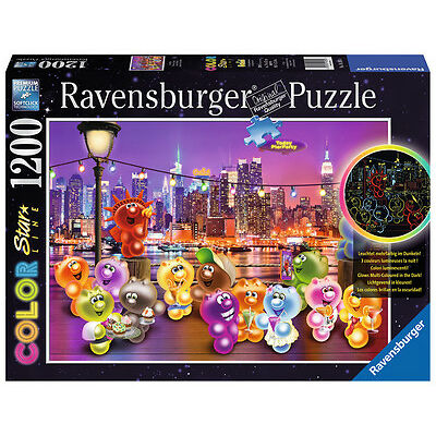 1200 Teile Ravensburger Puzzle Star Line leuchtet Gelini Pier Party 16185