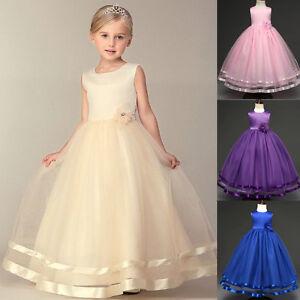 Blumenkind Prinzessin Festzug Hochzeit Geburtstagsparty Festkleider