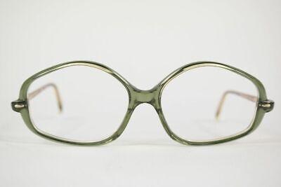 Vintage Neostyle Roulette 56[]16 140 Grün Braun Oval Brille Brillengestell Nos Waren Jeder Beschreibung Sind VerfüGbar