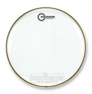 aquarian snare tom heads classic clear drumhead 14 cc14 659007000058 ebay. Black Bedroom Furniture Sets. Home Design Ideas