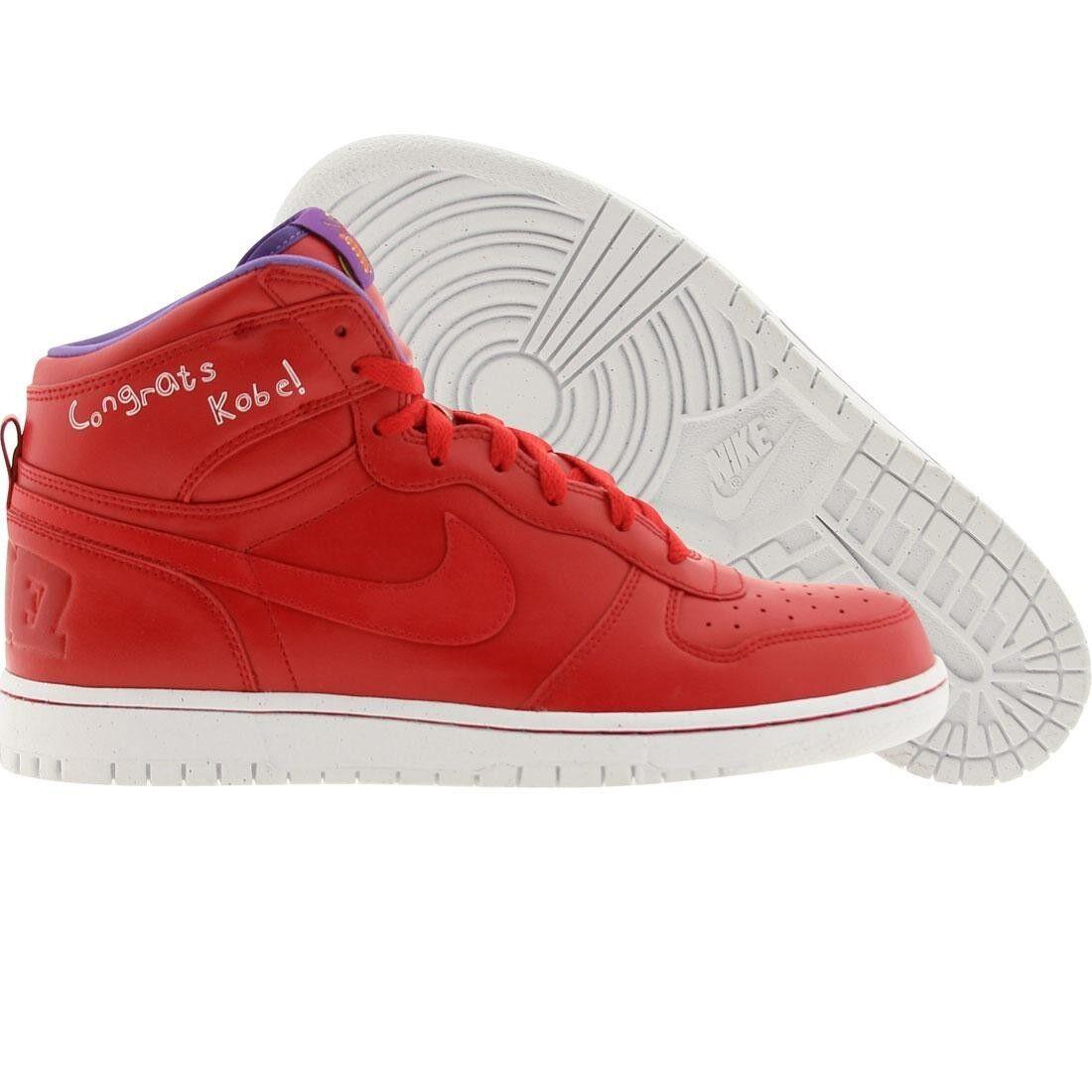 370428-600 Nike Hommes Big Nike High QK-Congrats Kobe Lil Dez (Rouge Sport Rouge