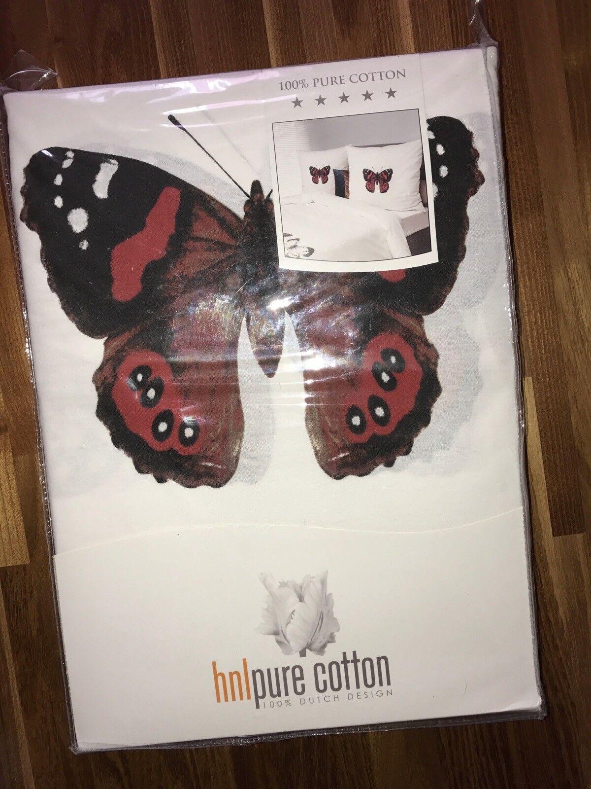 HNL Bettwäsche Schmetterling   NEU 135 x 200 Kissen 80 x 80 cm pure Cotton     Verkaufspreis