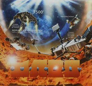 Mars Curiosity Space Probe s/s Burundi 2012 Sc 1174 #BUR12515b IMPERF - Olsztyn, Polska - Mars Curiosity Space Probe s/s Burundi 2012 Sc 1174 #BUR12515b IMPERF - Olsztyn, Polska