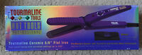 Hot Tools Professional Tourmaline Ceramic 5/8 Flat Iron W Temp.settings
