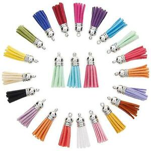 60Pcs-30-Colors-40mm-Tassel-Pendants-with-Caps-for-Key-Chain-DIY-ba-us