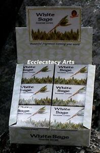 Kamini-White-Sage-Incense-Cone-10-20-30-80-60-100-120-Incense-Cones-U-Pick