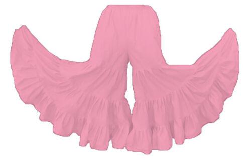 Cotton Pantaloon Trouser Flair Ruffle Harem Pant Palazzo Pant Belly Dance Tribal