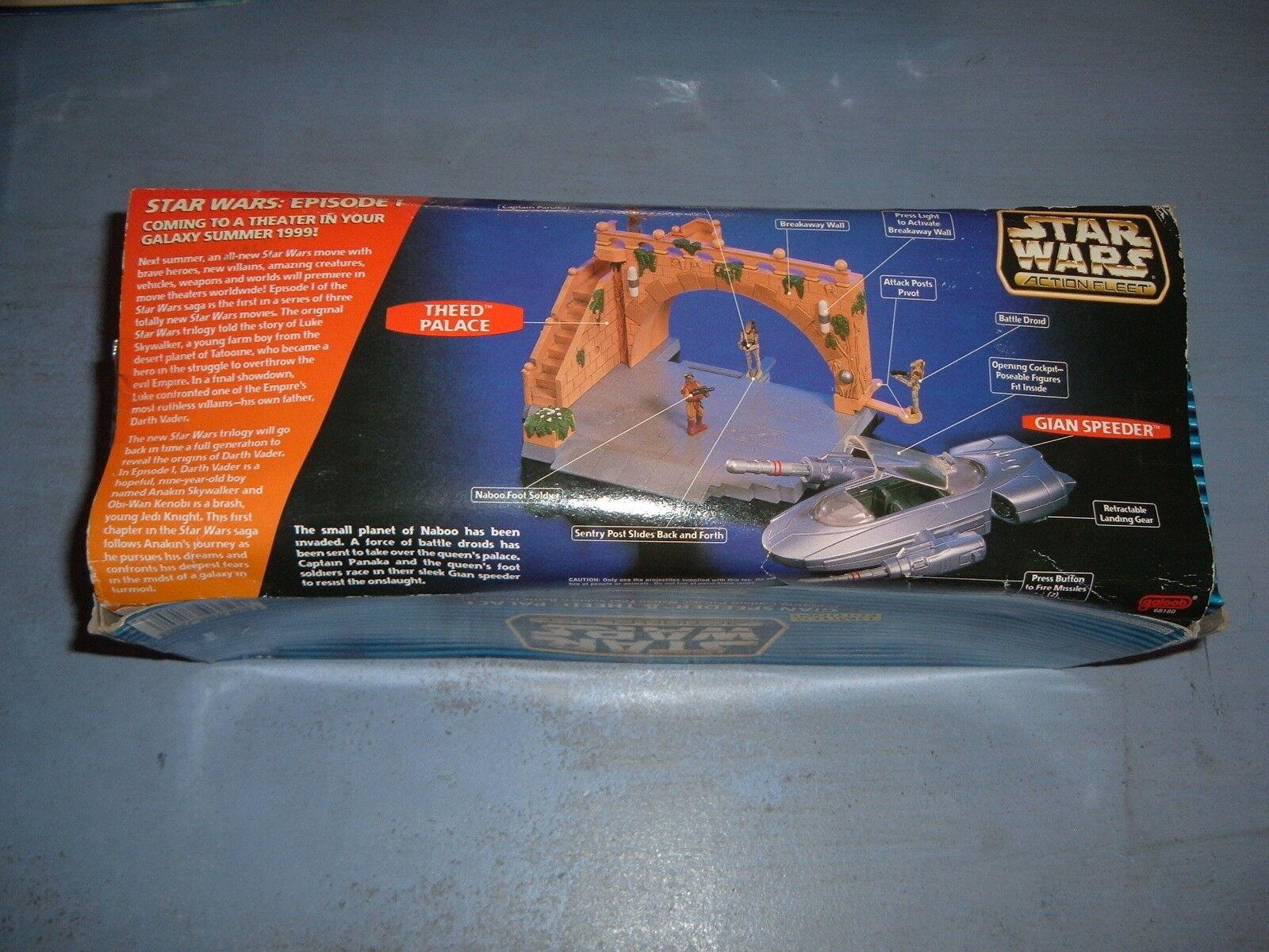 STAR WARS VINTAGE (c)1998 - GIAN SPEEDER SPEEDER SPEEDER & THEED PALACE IMPORT USA (neuf) d4c52f