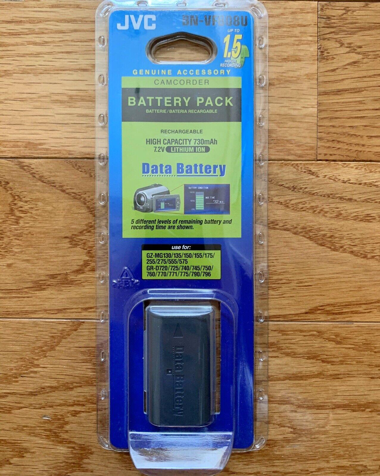 7,2V Li-Ion 17,3Wh batterie compatible pour JVC type BN-VF808U 2400mAh noir