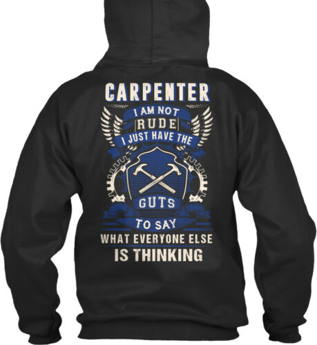 I Am Not Rude Just Have The Guts Standard College Hoodie Fun Awesome Carpenter