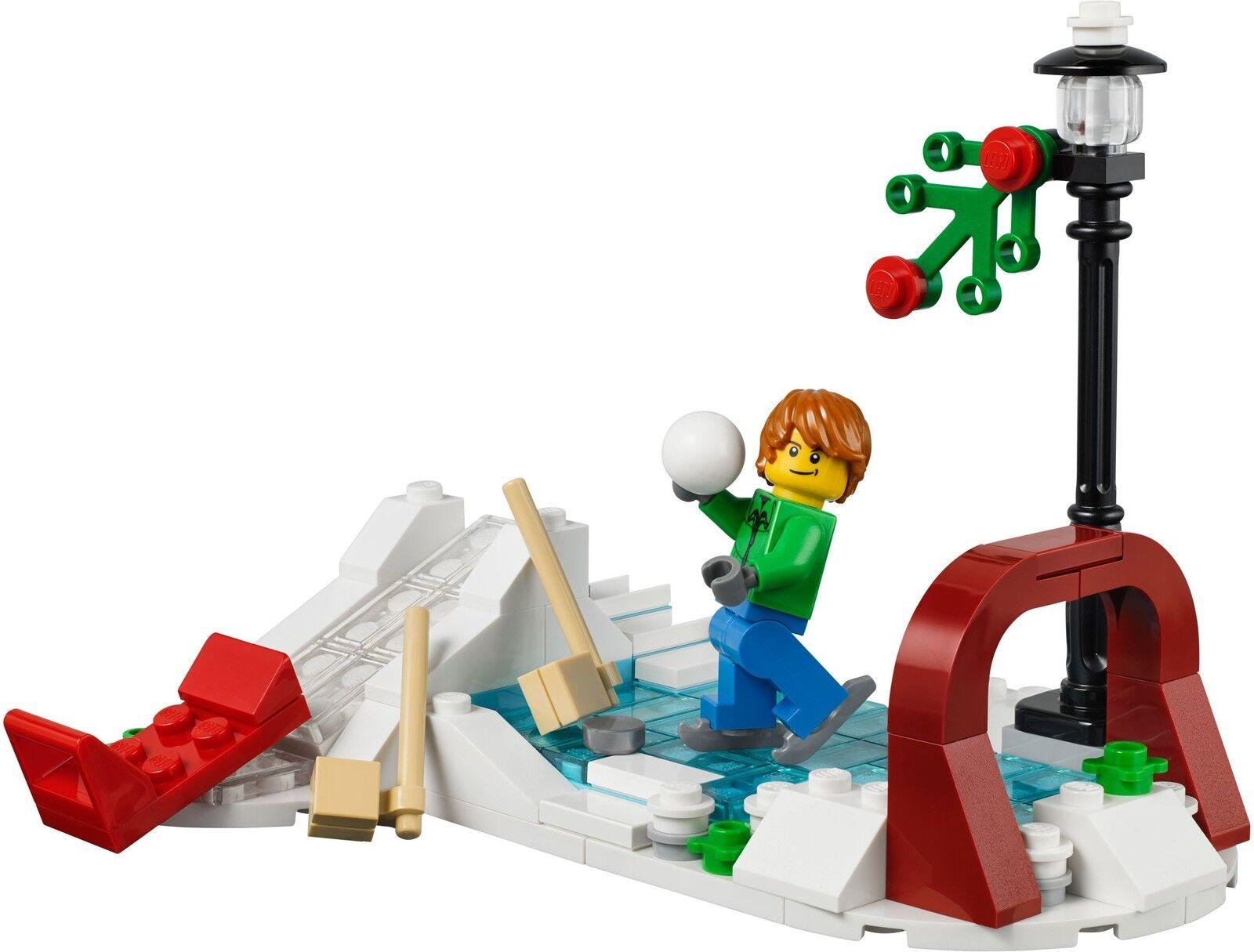 LEGO® Creator 40107 Winterliches Winterliches Winterliches Schlittschuh Set NEU_Winter Skating Scene 40106 b06ff6