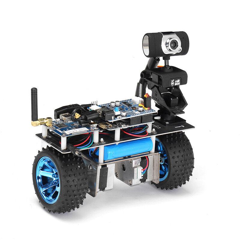 Xiao R STM32 Self-Balancing Smart Roly Robot Car Wifi Video Module APP Control F