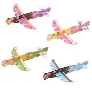 Fairy-Flying-Glider-Planes-Party-Bag-Filler-Childrens-Toys-Game-Prizes-Qtys-6-48