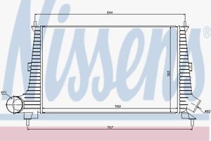 Dell/'aria di RADIATORE-Nissens 96891