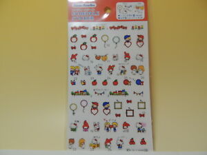 Hello Kitty Sanrio characters stickers for decoration deco schedule planner