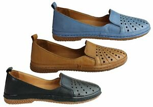 NEW-ORIZONTE-KOKO-WOMENS-EUROPEAN-COMFORTABLE-SOFT-LEATHER-FLAT-SHOES