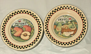 CERTIFIED-INTERNATIONAL-Susan-Winget-HARVEST-FAIR-Dinner-Plates-9-5-034-Set-of-2